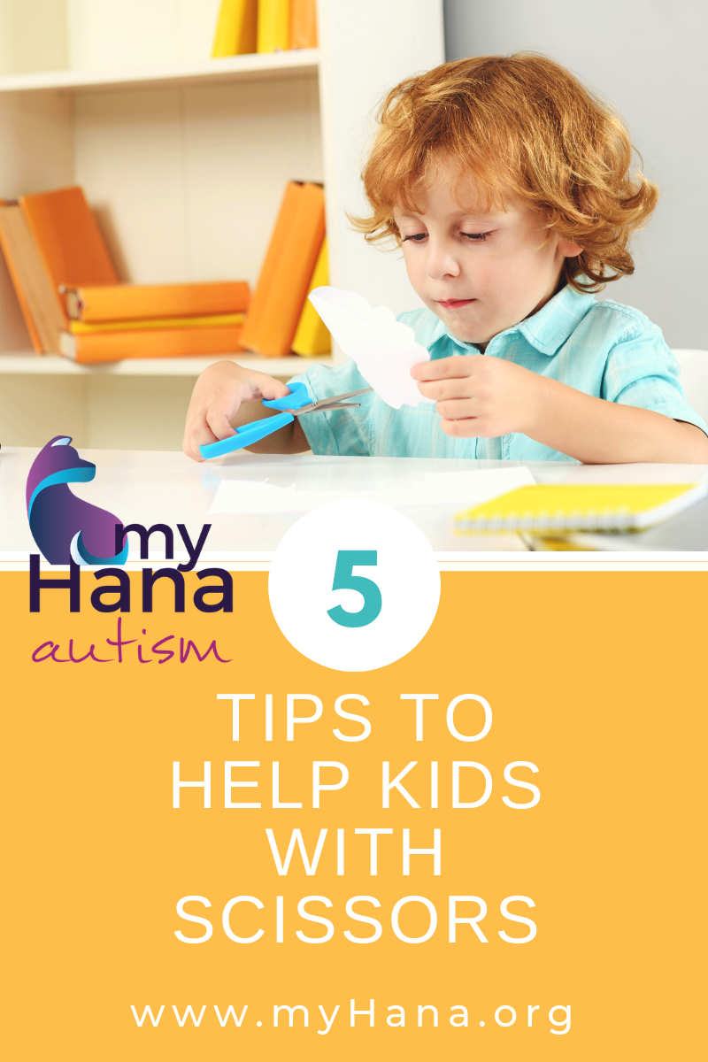 5 Tips to Help Your Child with Scissors